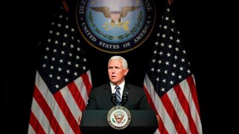 """美国给组建""""太空军""""找理由:应对潜在威胁"""