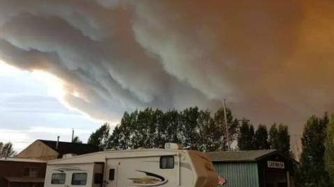 加拿大山火肆虐,BC省进入紧急状态