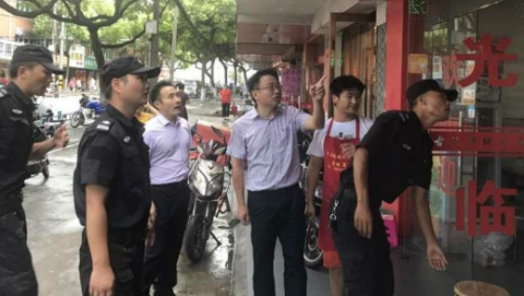 """防御台风""""温比亚"""" 金山:5000人抢险队、3000名志愿者上岗"""