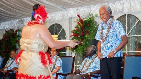 """太平洋岛屿居民实在太胖 汤加首相发出""""减重挑战"""""""