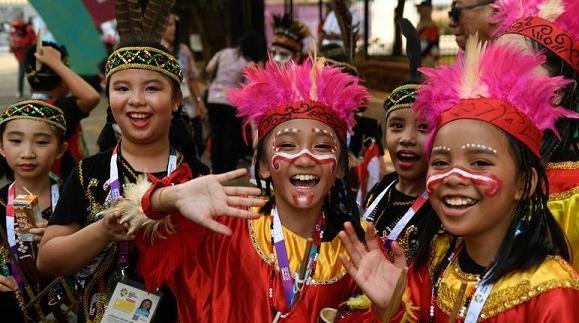 亚运会赛场内外秀出最炫民族风