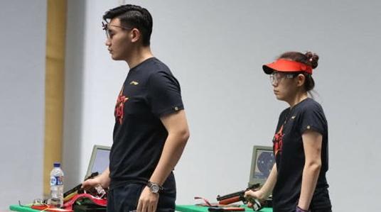 第二金! 吴嘉宇纪晓晶收获亚运会10米气手枪混合团体冠军