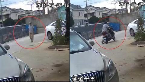 蟊贼专偷未上锁电动车  再次作案时被群众一眼认出