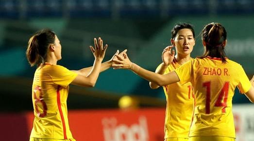 中国女足16比0横扫塔吉克斯坦 但争夺小组头名任务依然艰巨