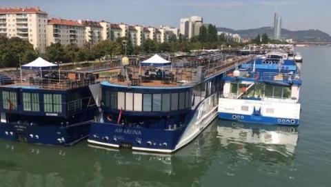 奥地利高温致多瑙河水位下降多行业受重创