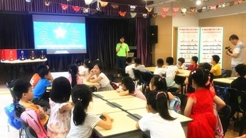 """""""垃圾分类公益宣讲""""进上海爱心暑托班 培养学以致用环保习惯"""