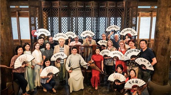 """上海国际小提琴比赛评委""""组团""""游园林听评弹,最喜欢的原来是……"""