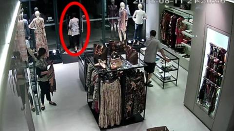 试衣时将T恤藏于裙子内侧离店 女子涉嫌盗窃被刑拘