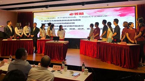 上海市健康教育与健康促进技能比武大赛决赛举行 长宁代表队拔得头筹
