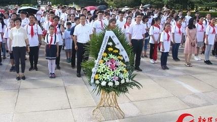 上海百万青少年红色大寻访活动上午举行