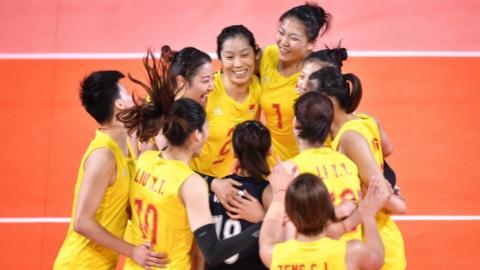 郎平遣奇兵出奇招收奇效 中国女排3:0完胜日本队