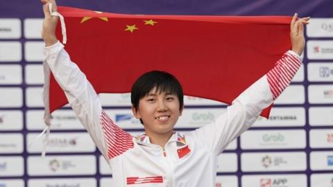 小将能抗大压力 16岁姑娘张明煜现代五项轻松夺冠