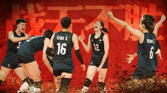 中国女排夺冠太轻松 一局未失登顶亚洲王座