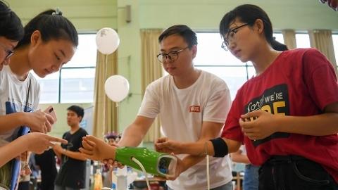 """自主、奋进才是大学的""""正确打开方式"""" 上理工""""花式""""活动迎新"""