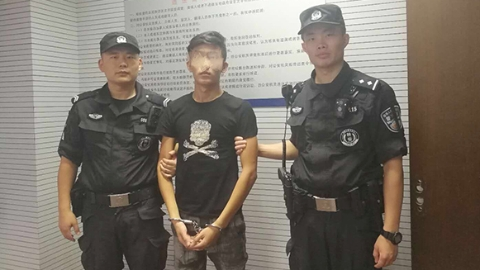 网瘾青年偷货车电瓶打游戏 被警方通缉还浑然不知