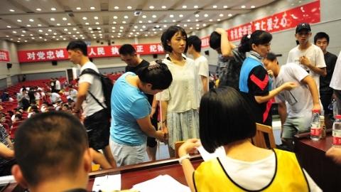 上海公安学院今年本科招录人数翻番 首批00后新生入学开启封闭集训