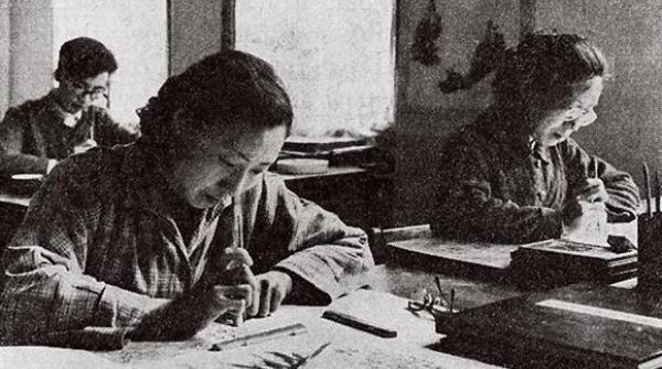 """在一批""""红色木版水印作品""""中,回望到50年前的真诚……"""
