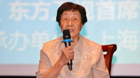 全国教书育人楷模于漪:她要用一辈子学做教师