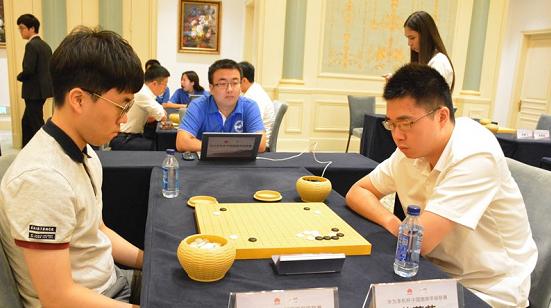 华为手机杯围甲第15轮 上海建桥队负于浙江队