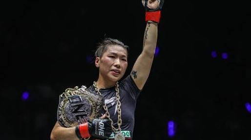 ONE冠军赛上海站落幕 熊竞楠再次卫冕综合格斗金腰带