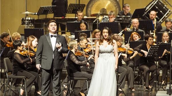 """哈萨克斯坦国家爱乐乐团奏响冼星海作品,""""丝路之声""""重又响遍祖国大地"""