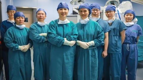"""""""一孔""""解决宫颈癌患者病痛 术后第三天就出院了"""