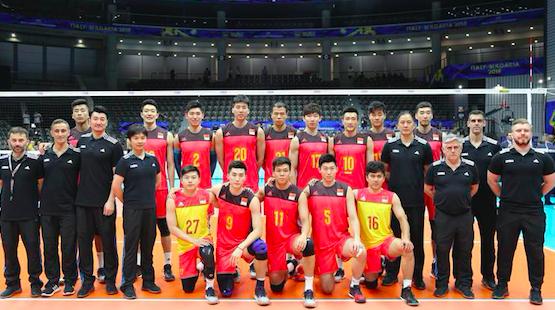 中国男排1比3负于荷兰队 小组出线形势严峻