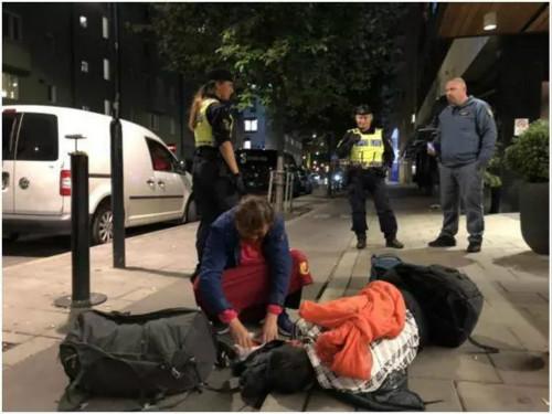 瑞典警察对中国老人施暴 使馆提醒加强安全防范