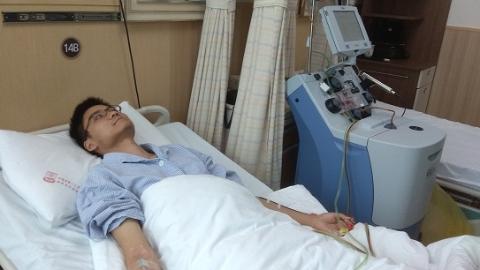 他18岁成人仪式加入中华骨髓库 今成为上海第410例造血干细胞捐献者