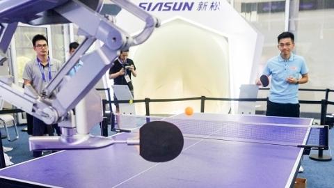 浦江西岸集聚世界最强大脑 世界人工智能大会上午开幕