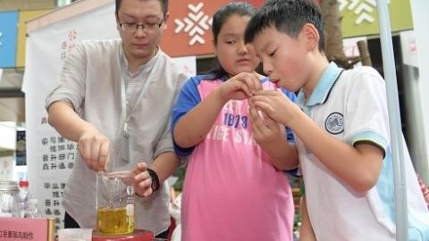 传递公益力量 2018上海公益伙伴日活动上周末举行