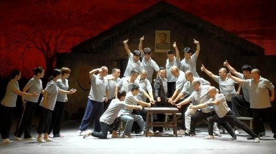 国家京剧院新创现代京剧《生死契约》再现小岗村改革
