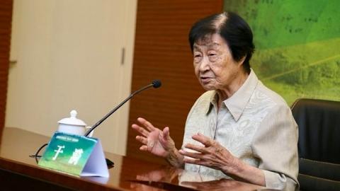 90岁的于漪老师仍活跃在讲台 送给教坛新秀四句《道德经》名言