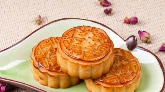 中秋月饼圆