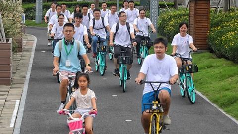 骑上单车换种方式欣赏风景 首届上海骑游节今举行
