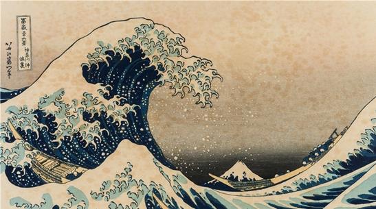 """""""巨浪""""和""""骤雨""""进击上海 浮世绘大师之作在沪精彩亮相"""