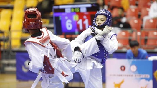 致力培养后备人才 2018全国青少年跆拳道U系列赛上海站开幕