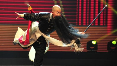 小戏骨贺中秋 市民文化节校园中华戏曲大赛颁奖展演昨晚举行