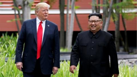 特朗普:可能很快与金正恩再次会晤