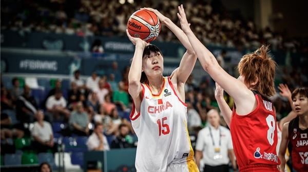 """""""女版周琦""""表现征服国际篮联,韩旭自信回应进军WNBA:Yes!"""