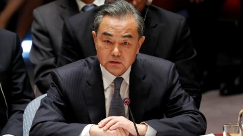 王毅反驳美国声称中国干预美国选举:不接受无端指责