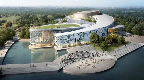 """全国首座森林剧院""""九棵树""""主剧院明年8月底竣工"""