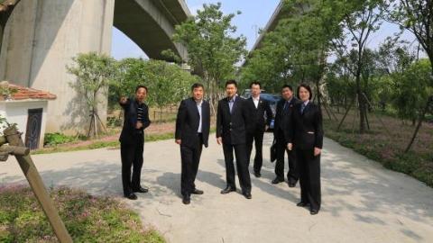 上海铁检守护高铁沿线风景 源头治理焕然一新