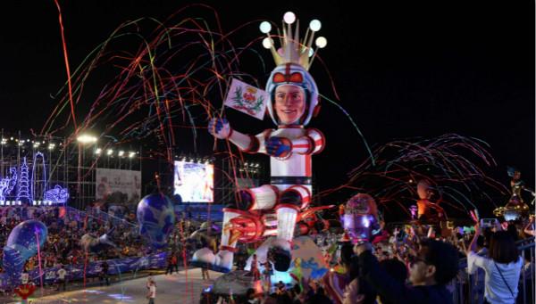 当法式风情遇上江南文化  2018宁波·尼斯国际嘉年华开幕