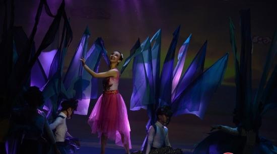 这部舞剧说:《山海经》里的精卫,曾在上海金山填海!