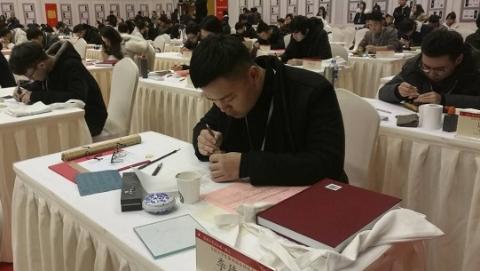 华师大携120余位大学生篆刻创作迎新年