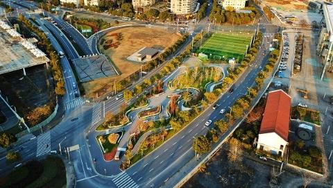 【新时代新气象新作为】多美图!开门遇见美好,去年上海共新建改建91座街心花园