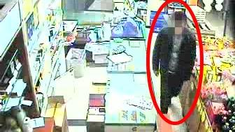 毛贼破坏幕墙玻璃侵入超市 多条卷烟被盗