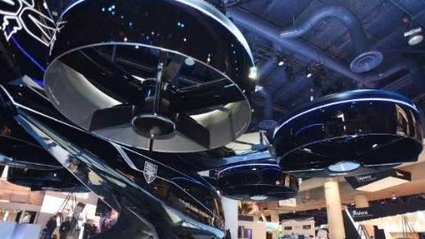 未来空中出租车亮相CES大展