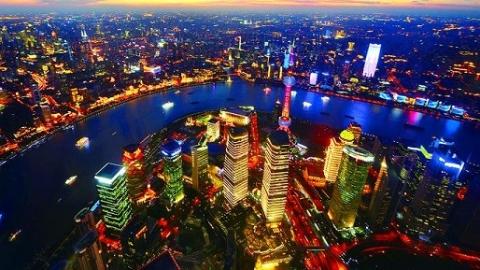 夜上海|极目上海最高处 向着美好生活出发